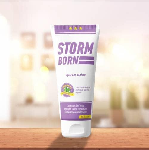 Крем для гоління STORMBORN Народний шанс